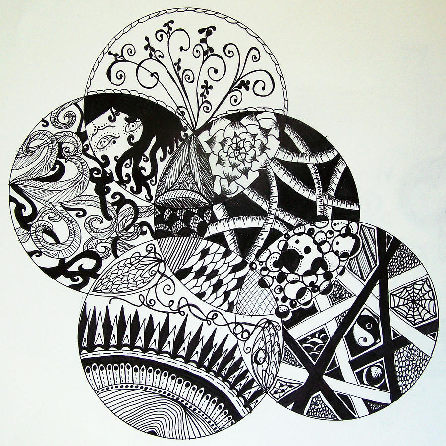 Mandalas Drawing