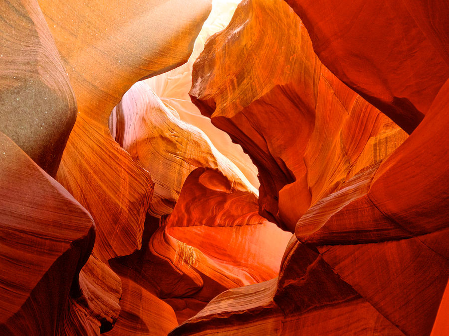 Manger Scene In Lower Antelope Canyon-az Photograph  - Manger Scene In Lower Antelope Canyon-az Fine Art Print
