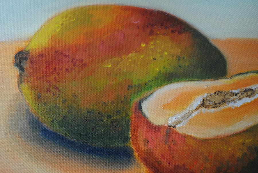 Mangoes Painting  - Mangoes Fine Art Print
