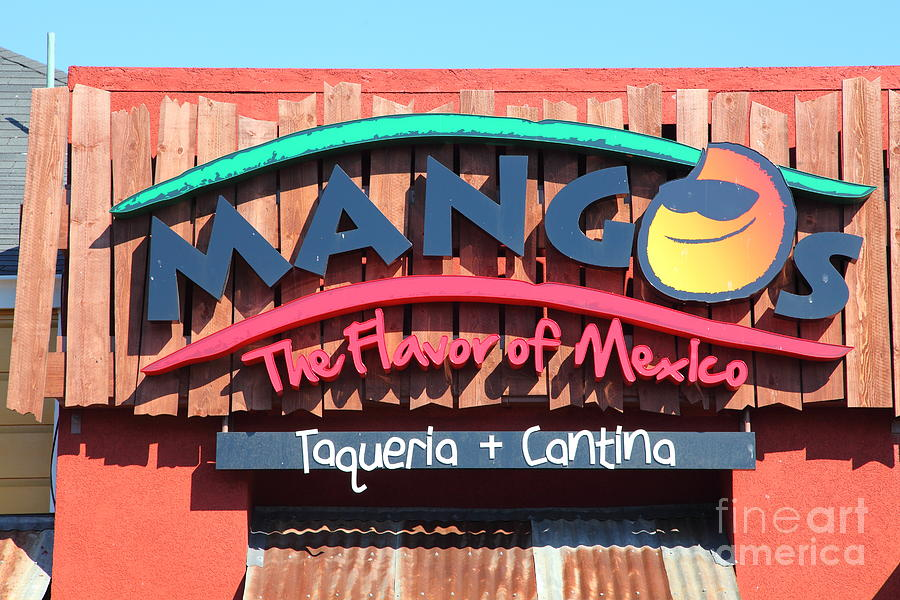 Mangos Restaurant At San Francisco California 5d26091 Photograph