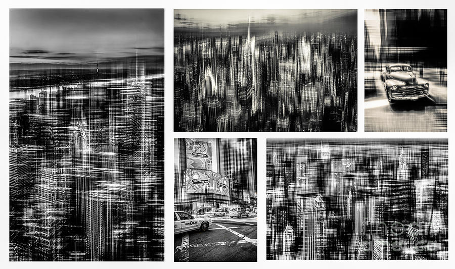 Nyc Photograph - Manhattan Collection II by Hannes Cmarits