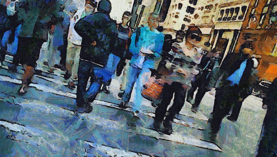 Manhattan Crosswalk Painting