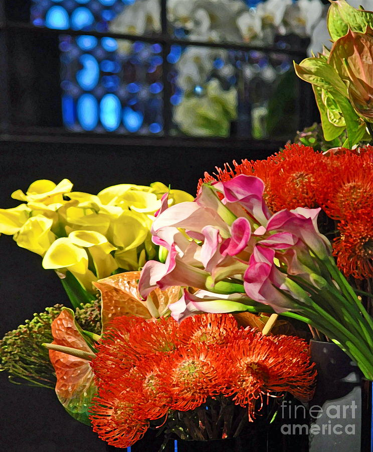 Manhattan Florist Photograph  - Manhattan Florist Fine Art Print