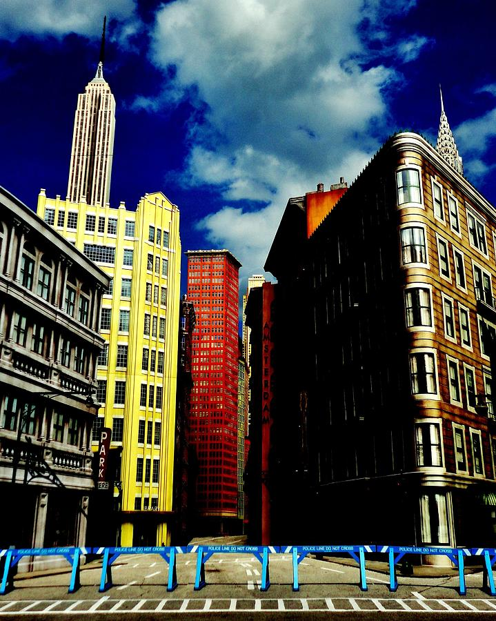 Manhattan Photograph - Manhattan Highlights by Benjamin Yeager