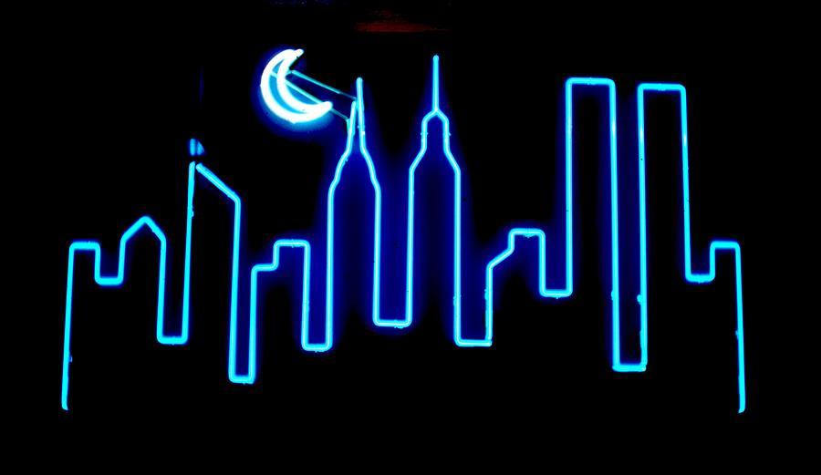 Manhattan Skyline Sculpture - Manhattan Skyline by Pacifico Palumbo