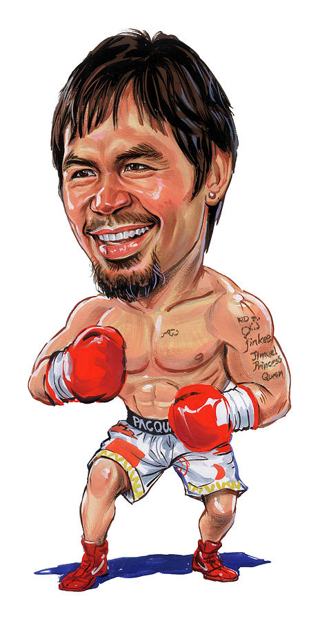Manny Pacquiao Painting