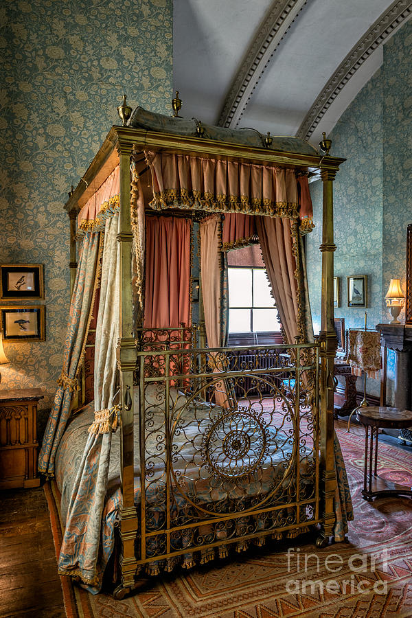 Mansion Bedroom Photograph