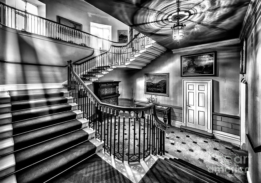 Mansion Stairway V2 Photograph