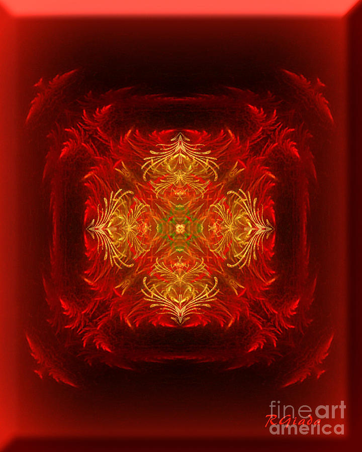 Mapping The Soul - Spiritual Abstract Art By Giada Rossi Digital Art