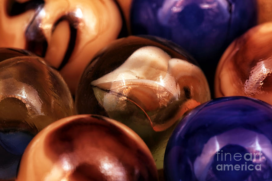 Marble Choices Photograph - Marble Choices by John Rizzuto