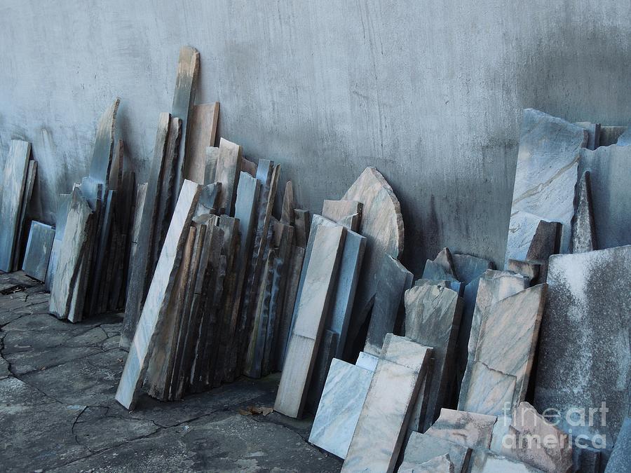 Marble Graveyard Photograph