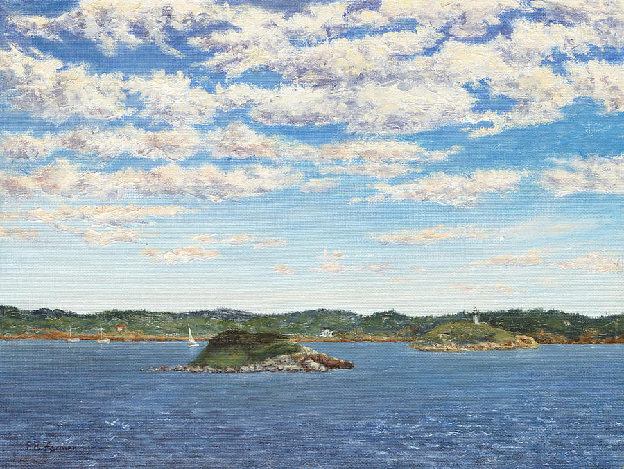 Marblehead View Painting