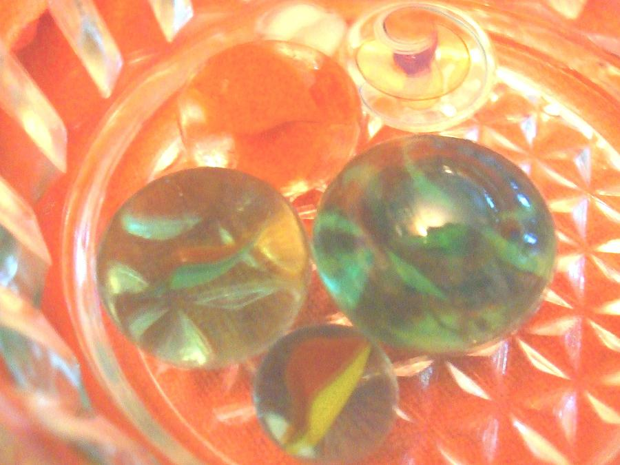 Marbles Hanging Out Photograph