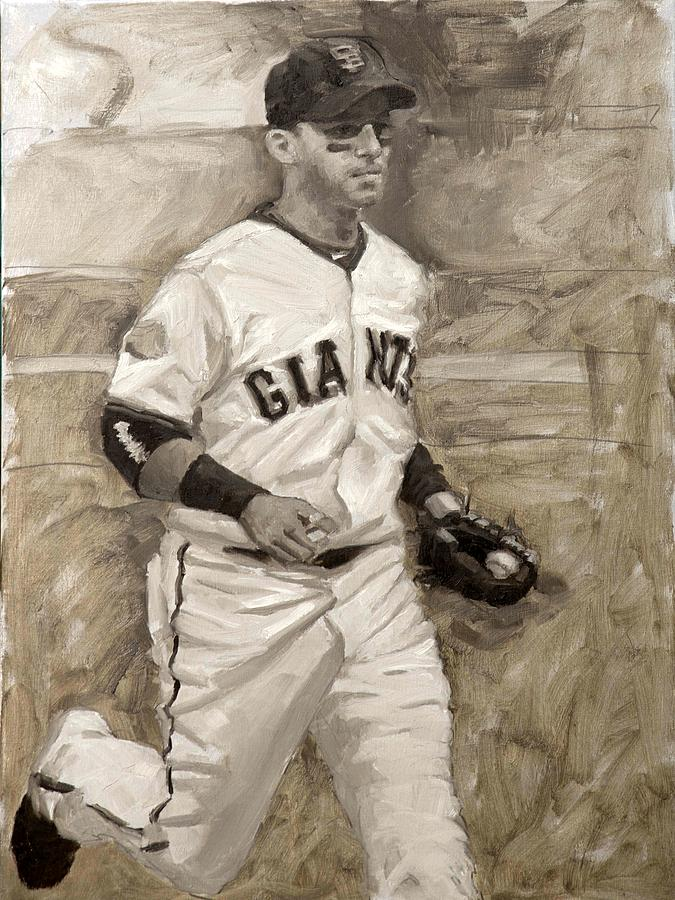 Marco Scutaro Painting