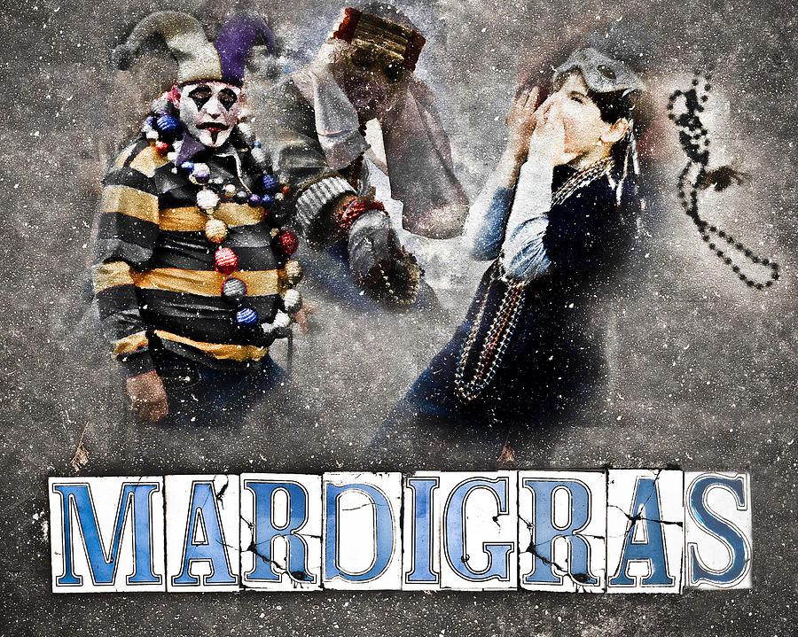 Mardi Gras Artwork Photograph