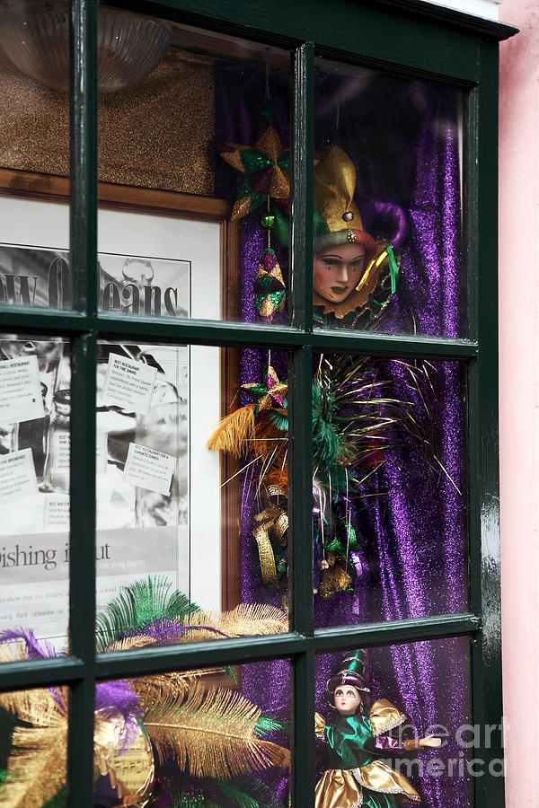 Mardi Gras Colors Photograph - Mardi Gras Colors by John Rizzuto