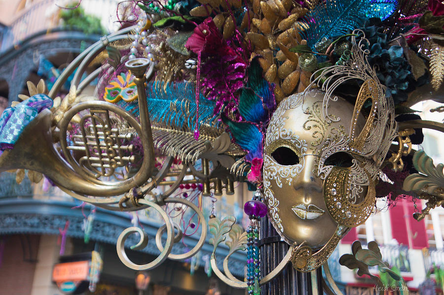 Mardi Gras Mask Photograph