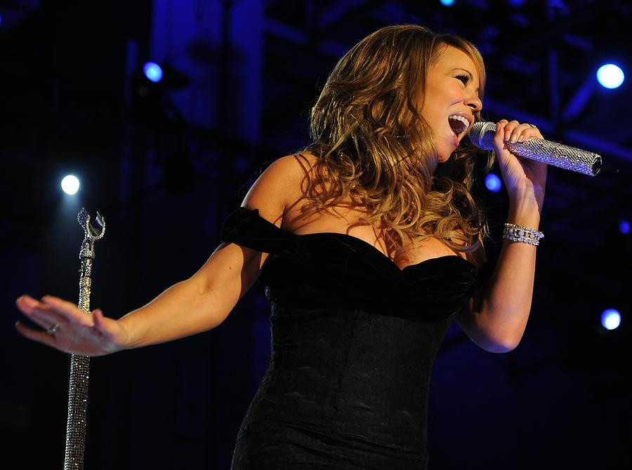 Mariah Carey In Concert 2009 Photograph