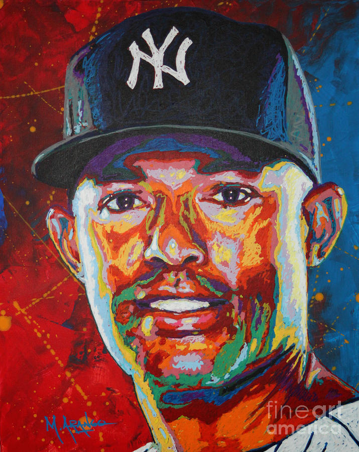 Mariano Rivera Painting