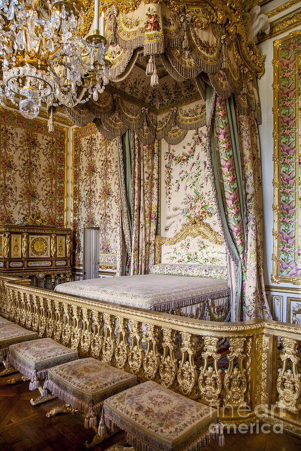 marie antoinette bedroom is a photograph by brian jannsen which was