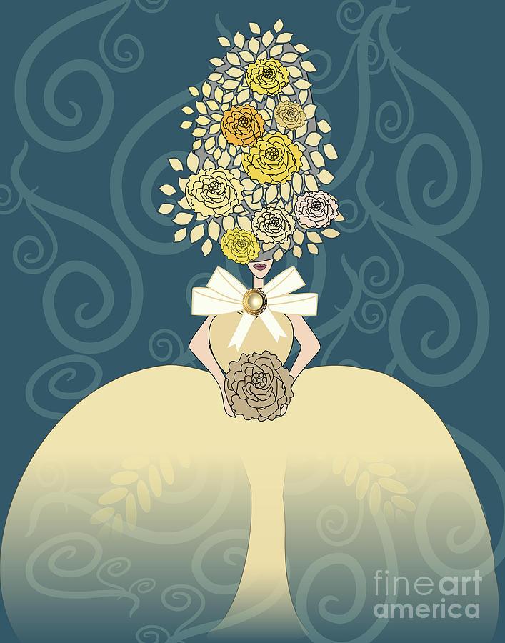 Marie Antoinette V Digital Art