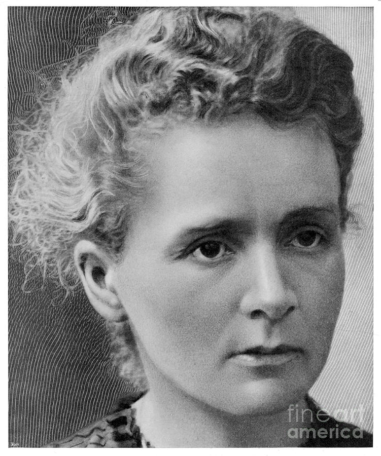 Marie Curie Photograph by Mary Evans