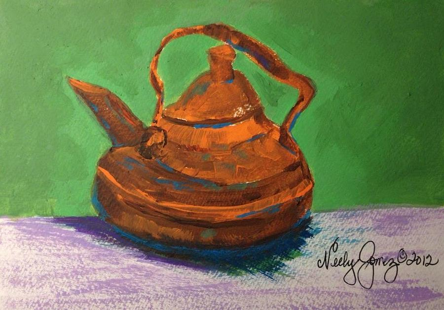 Maries Teapot Painting