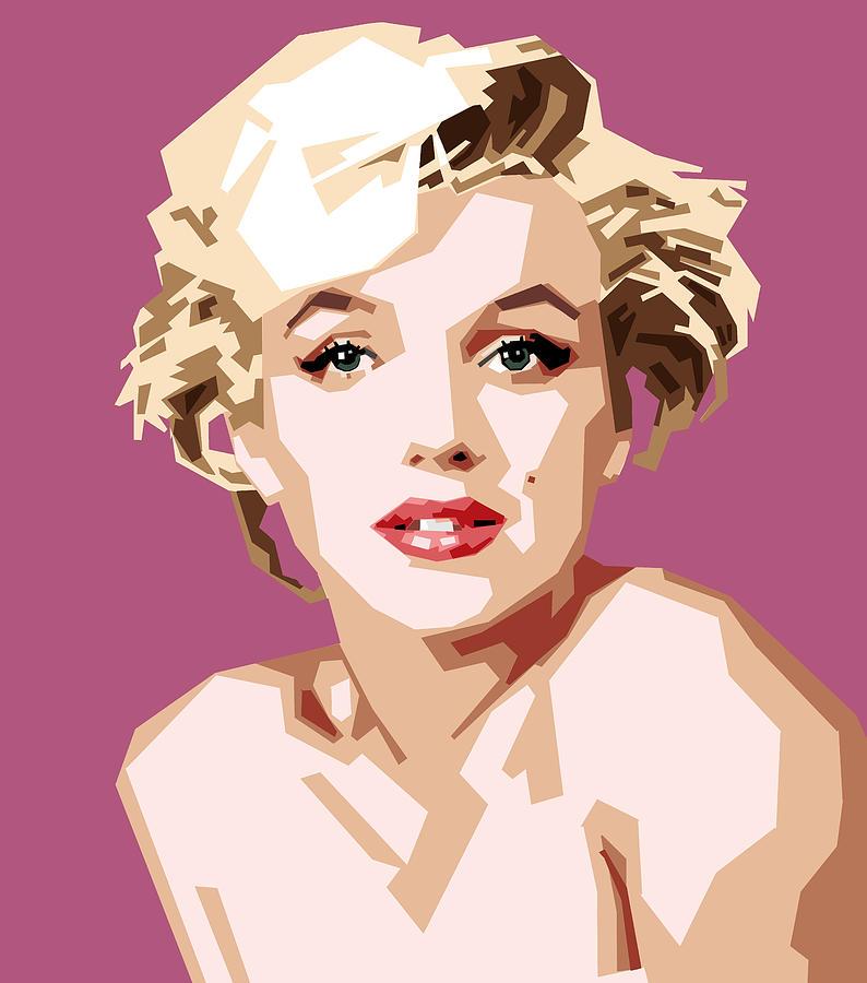 Marilyn Digital Art