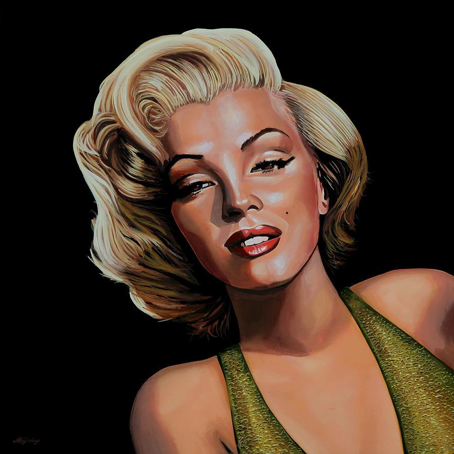 Marilyn Monroe Painting - Marilyn Monroe 2 by Paul Meijering