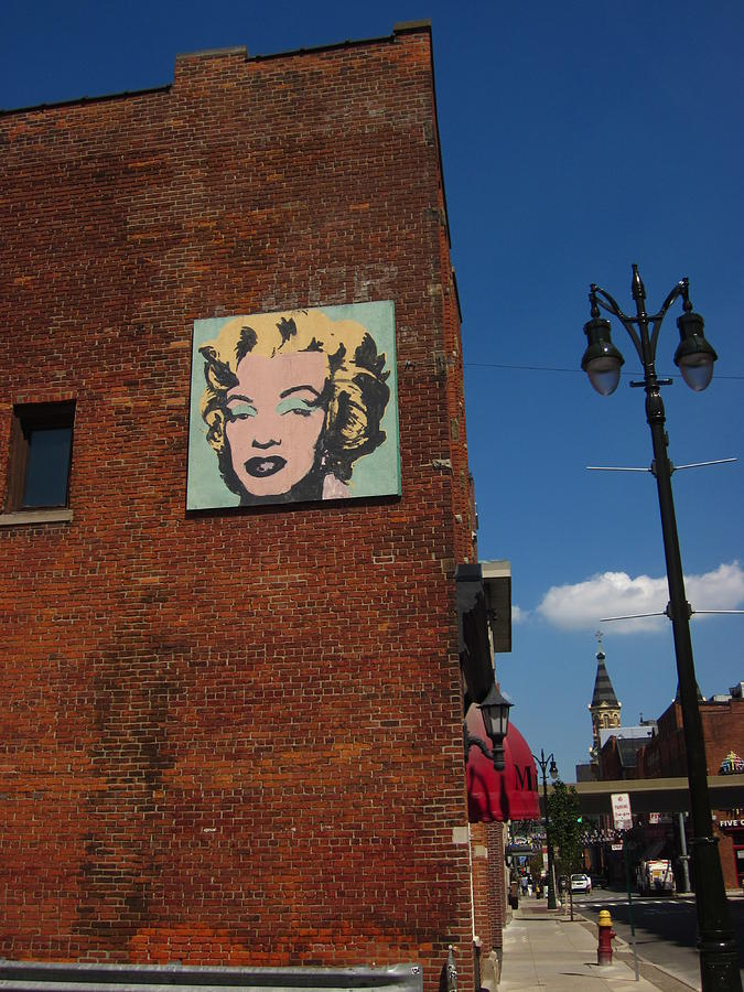 Marilyn Monroe In Detroit Photograph