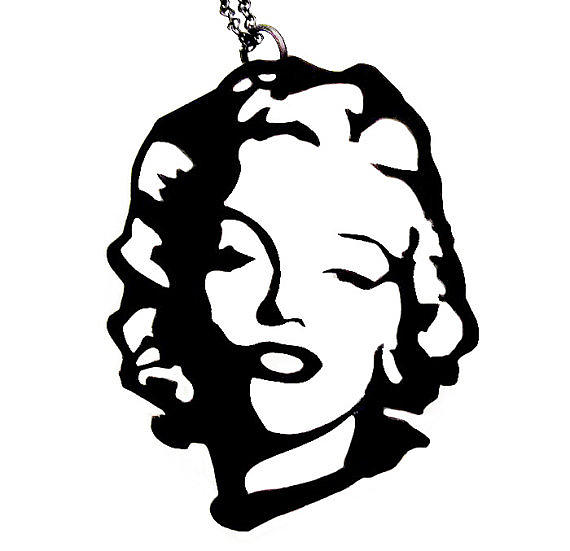 Marilyn Monroe Necklace Jewelry