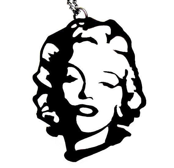 Marilyn Monroe Necklace Jewelry