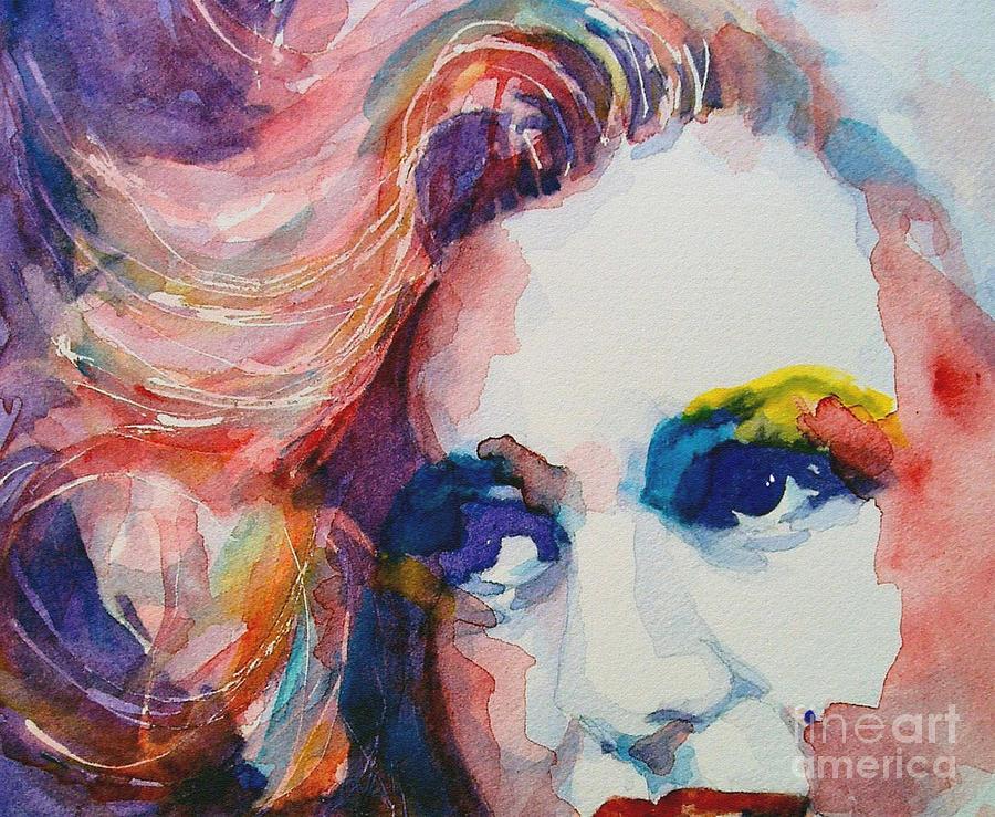 Marilyn Monroe  Painting - Marilyn No11 by Paul Lovering