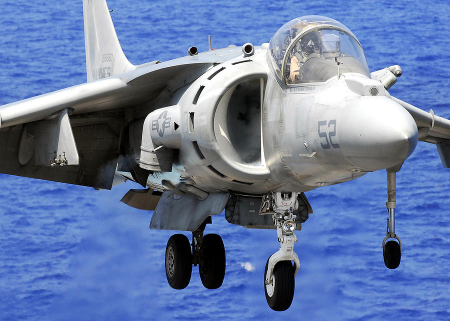 Marine Corps Harrier Photograph