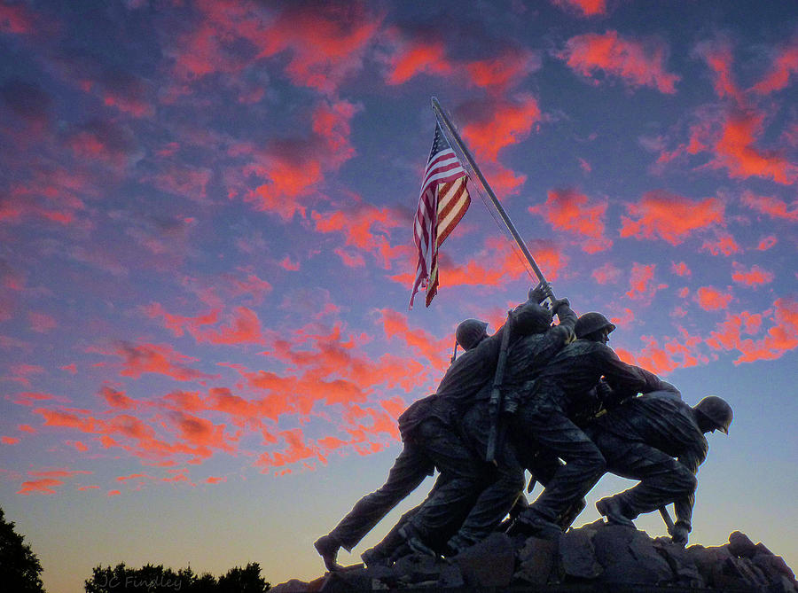 Marines At Dawn Photograph
