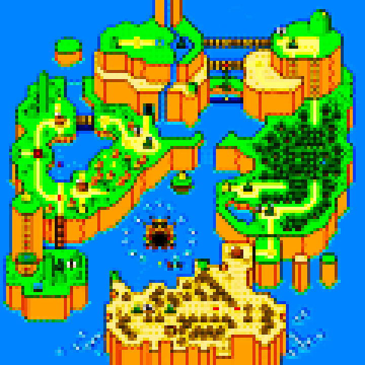 Mario World 84 Digital Art  - Mario World 84 Fine Art Print