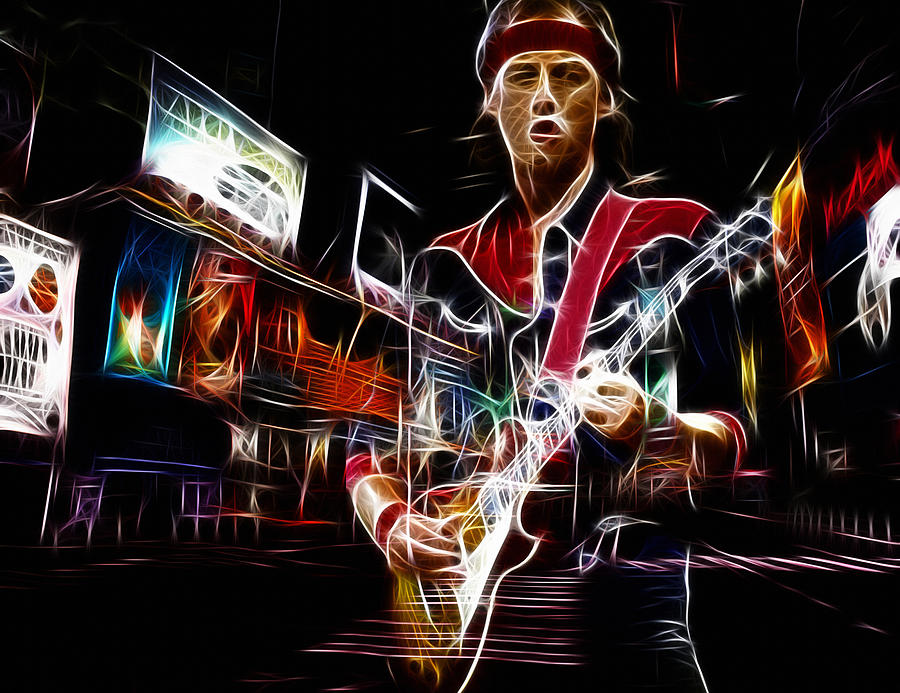 Mark Knopfler Digital Art