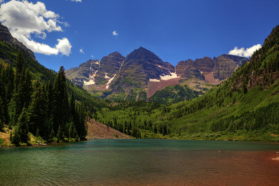 maroon bells lake at - photo #14