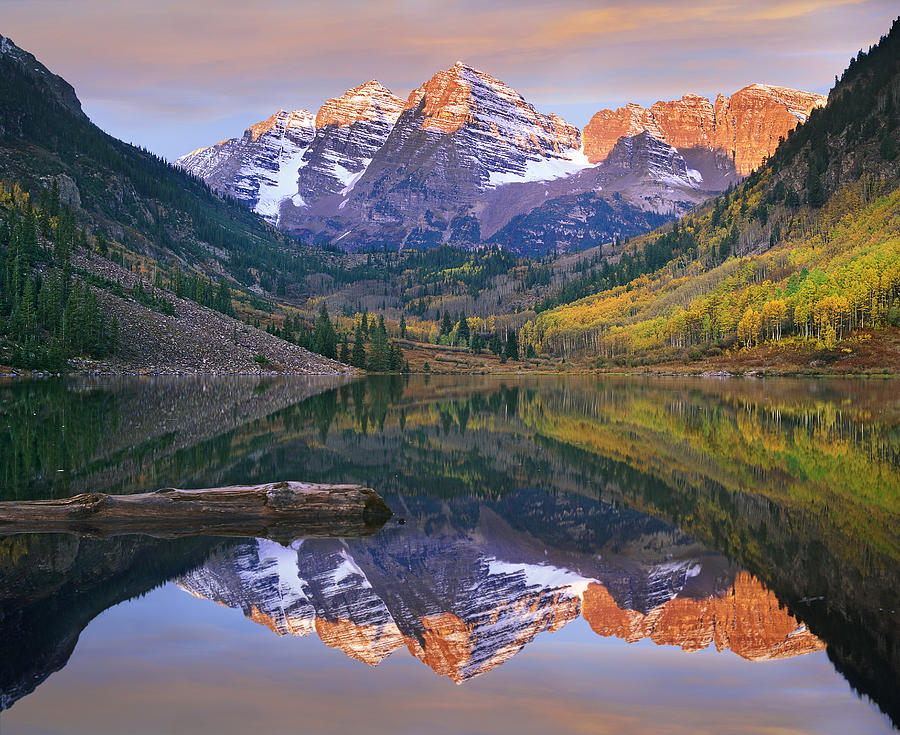Maroon Bells Snowmass Wilderness is a photograph by Tim Fitzharris ...