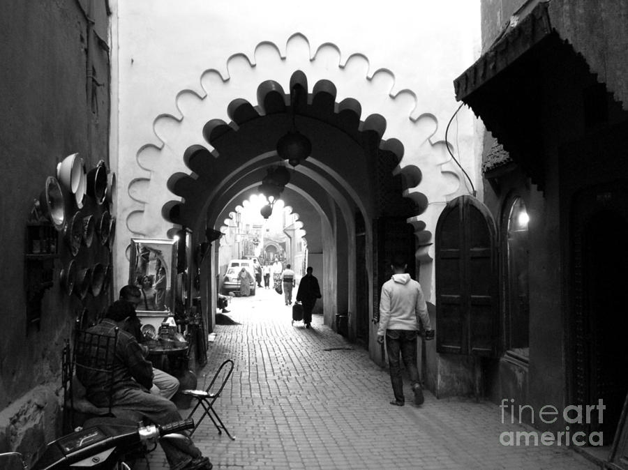 Marrakesh Medina Photograph  - Marrakesh Medina Fine Art Print