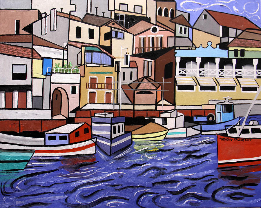 Marseille France Painting - Marseille France by Anthony Falbo