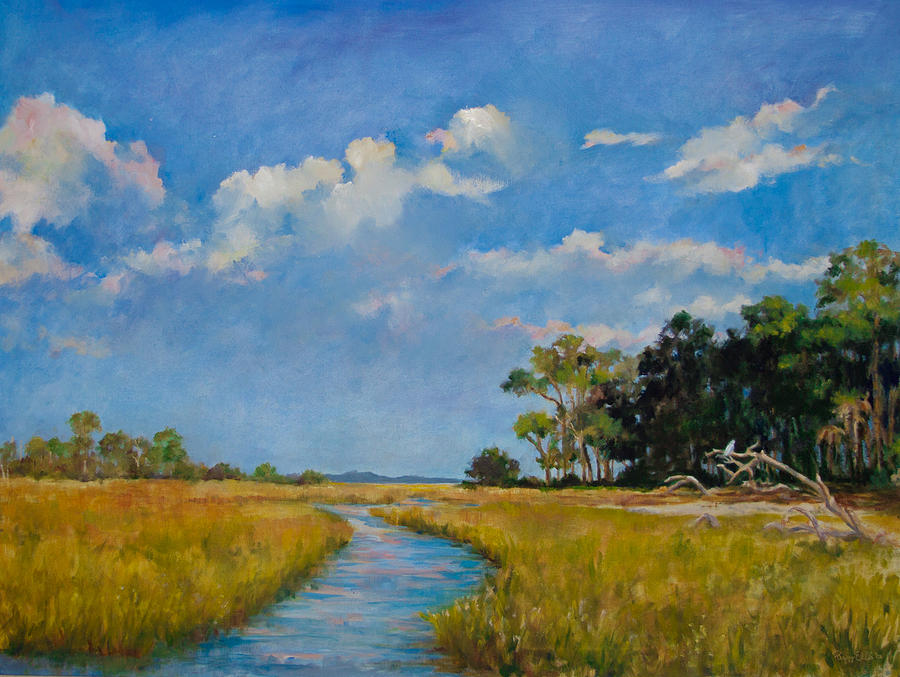 Marsh Magic Painting