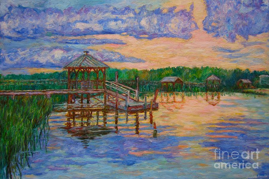 Marsh View At Pawleys Island Painting