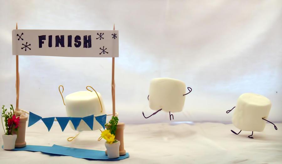Marshmallow Marathon Photograph