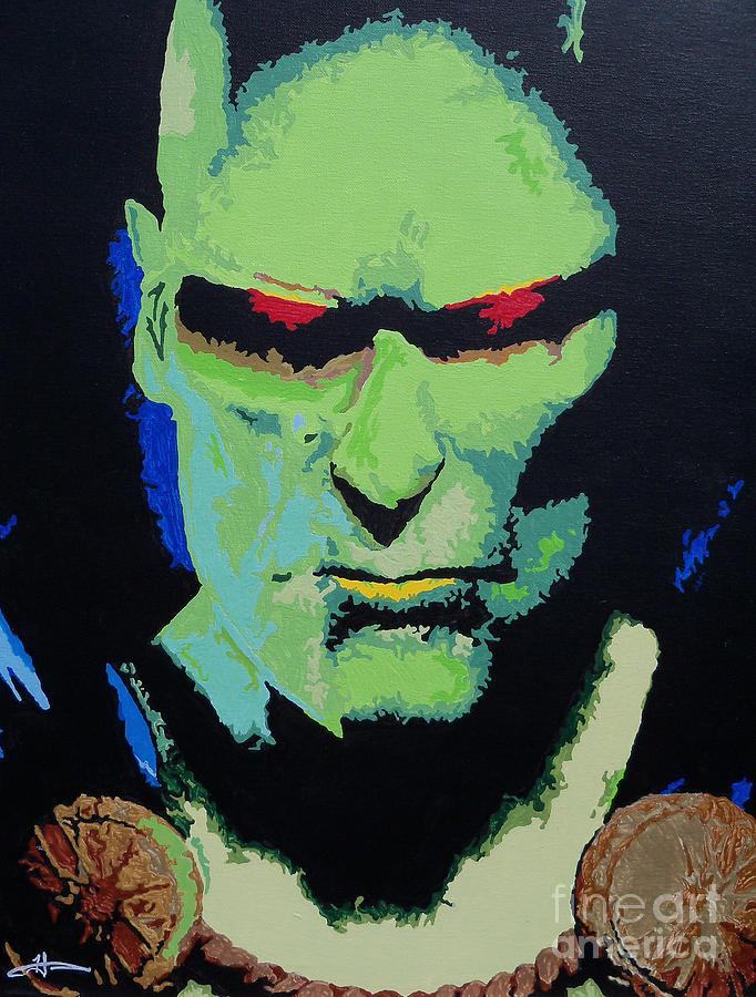 Martian Manhunter - A Close Encounter Painting