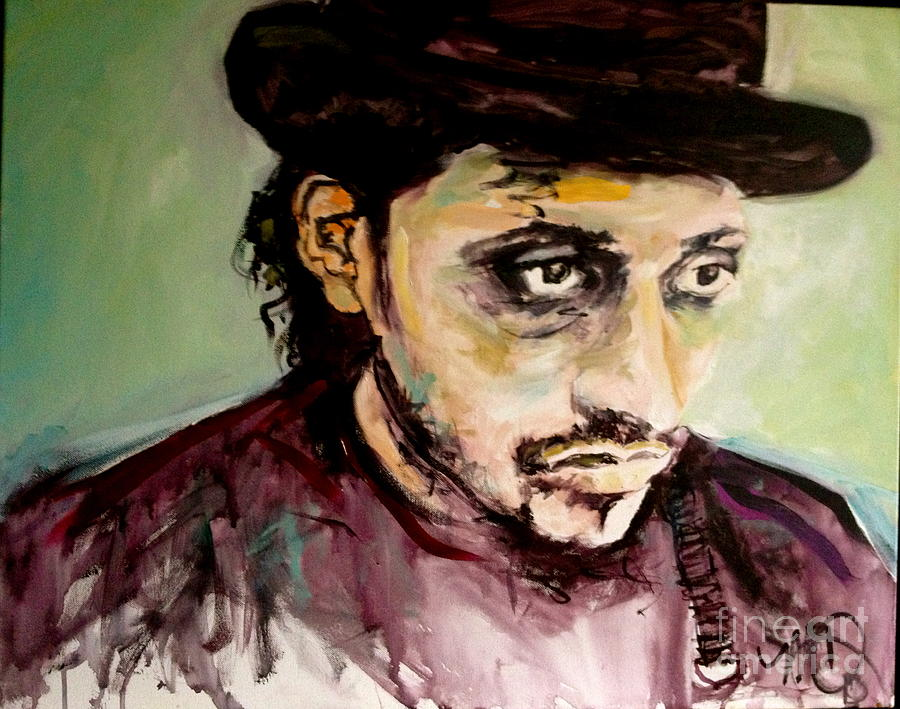 Portrait Painting - Martin Grech by Michelle Dommer