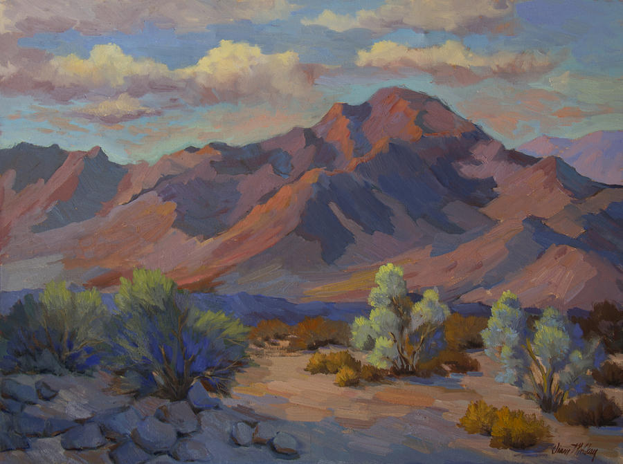 Martinez Mountain In La Quinta Cove Painting By Diane Mcclary