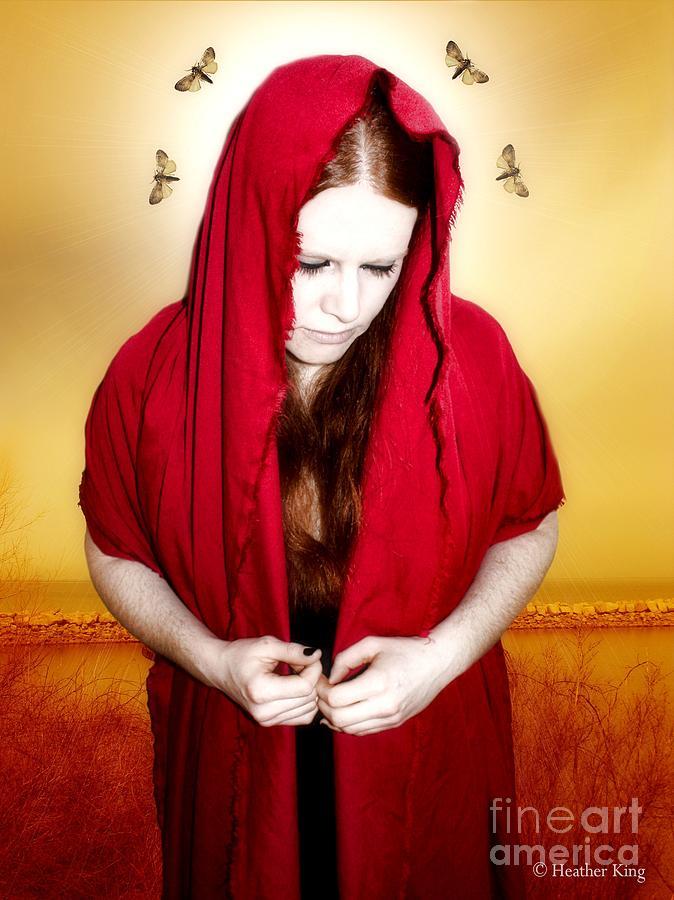 Mary Of Silence Photograph