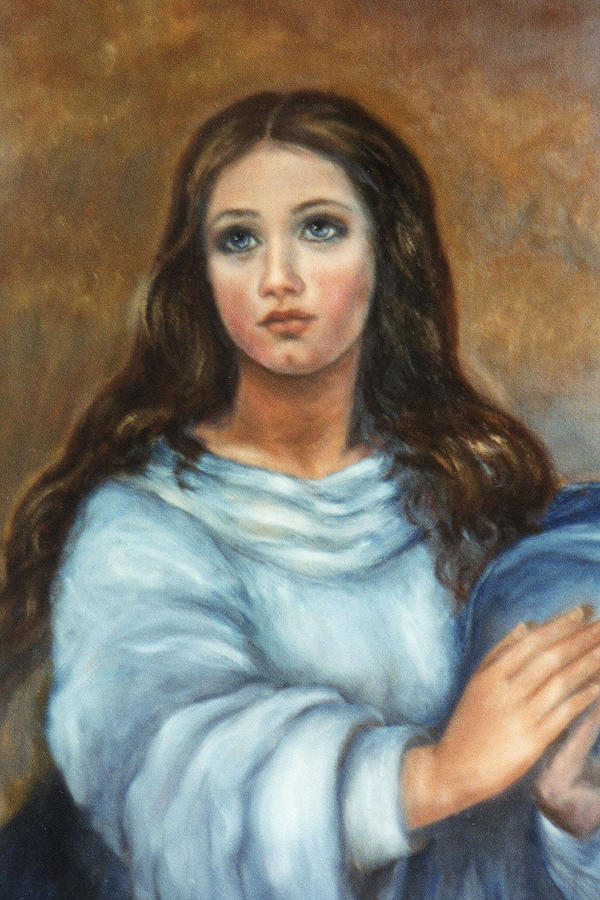 Mary Painting  - Mary Fine Art Print