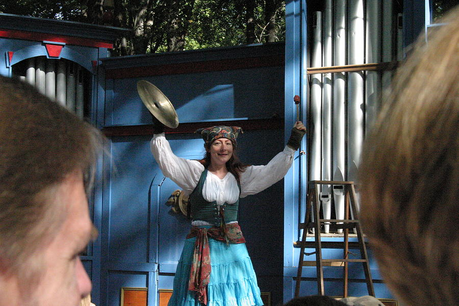 Maryland Renaissance Festival - A Fool Named O - 121223 Photograph